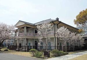 桜と泉布観3ds